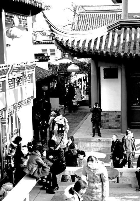 素描南京夫子庙4