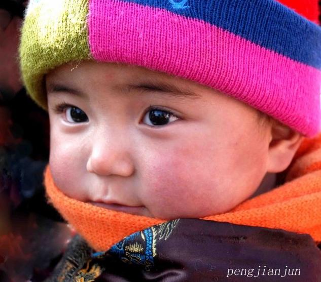 可爱的藏族小孩图片