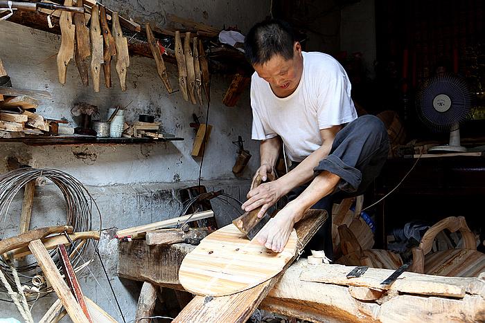 老街上的木匠铺 江南一笛