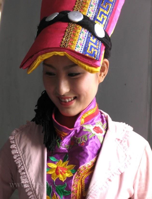 宕昌羌族姑娘