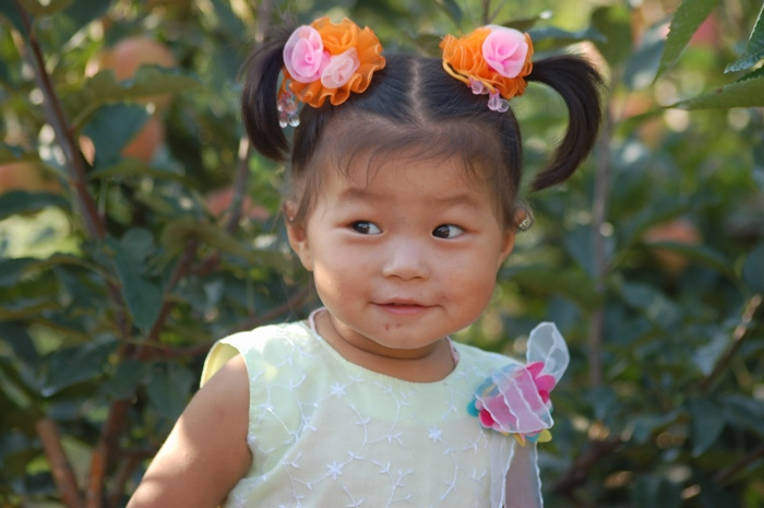 农村小女孩1
