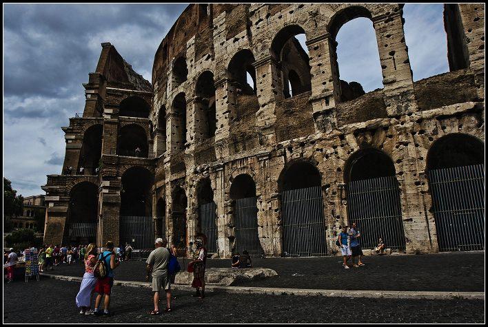 欧洲掠影——古罗马角斗场