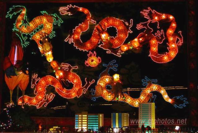 锦州古塔公园--灯展
