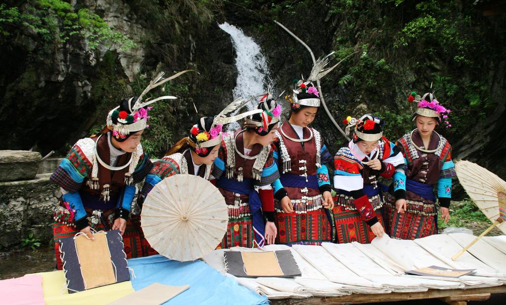 古代造纸术发祥地—贵州省