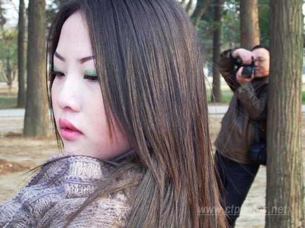 摄影师与模特