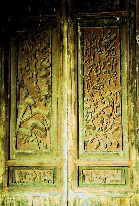 明清时期古建筑木雕艺术