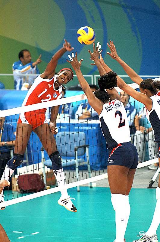 奥运女排比赛 高清图片