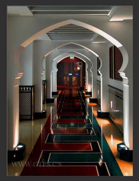 神秘的阿拉伯塔酒店