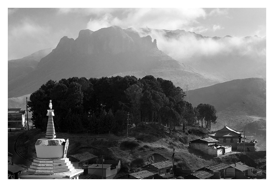 风景黑白灰---郎木寺