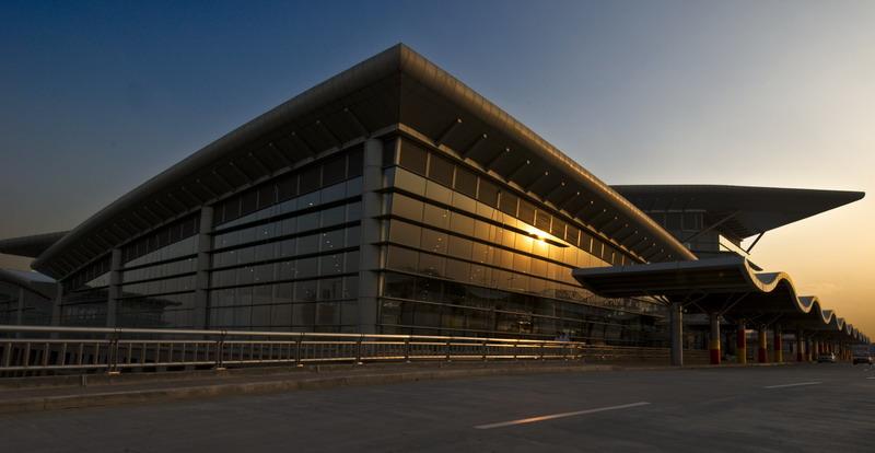 奥运会主备降机场-太原机场新航站楼