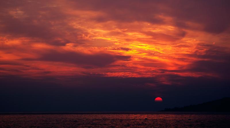 ctps.cn-- 海上日出 悠悠乐拍; 海上日出水粉画;