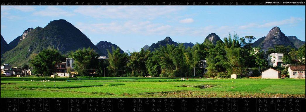 靖西龙潭风景图片