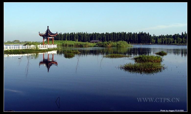 风景优美的水上图