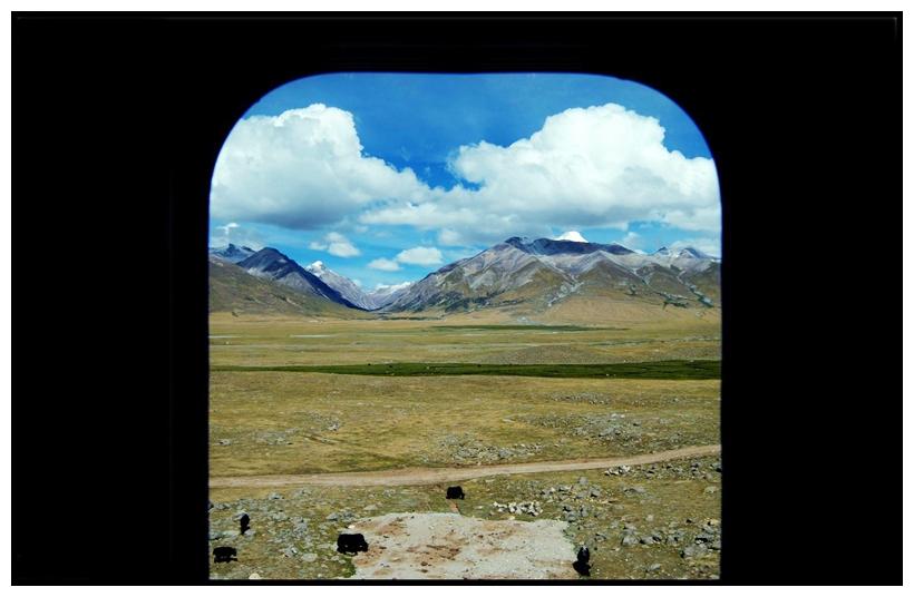 出藏列车窗外的风景抓拍-1
