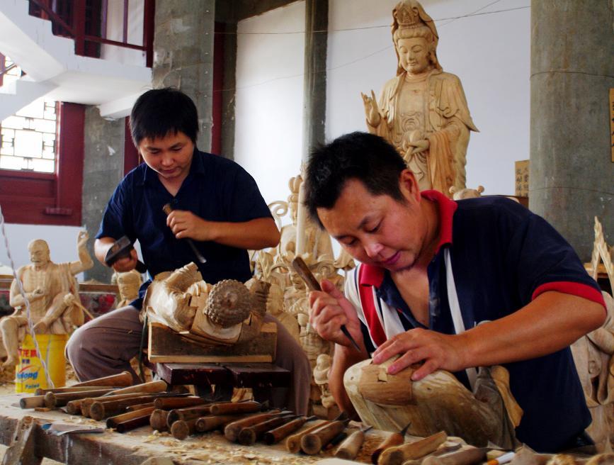 传统工艺------木雕