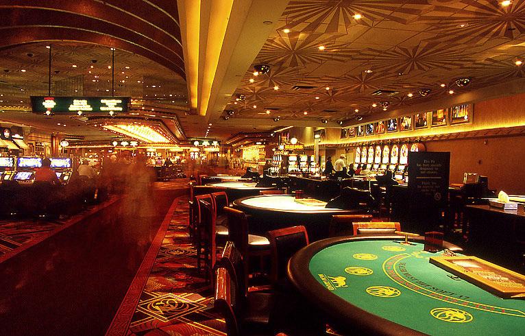 冒险拍摄的拉斯维加斯豪华赌场内景9