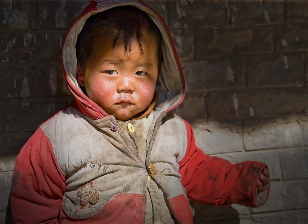 山区贫困儿童视频