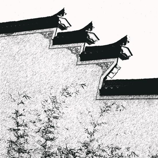 浙西掠影----马头墙素描