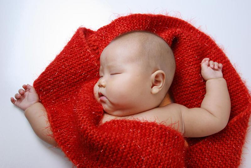 可爱男宝宝艺术照