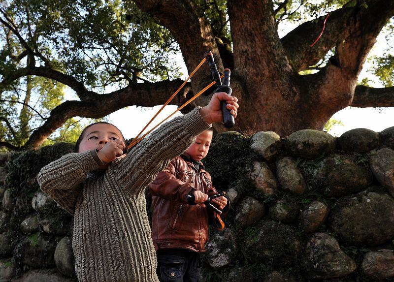 儿童弹弓游戏