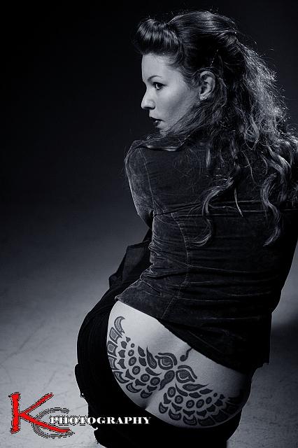 纹身女郎 kchu2003图片