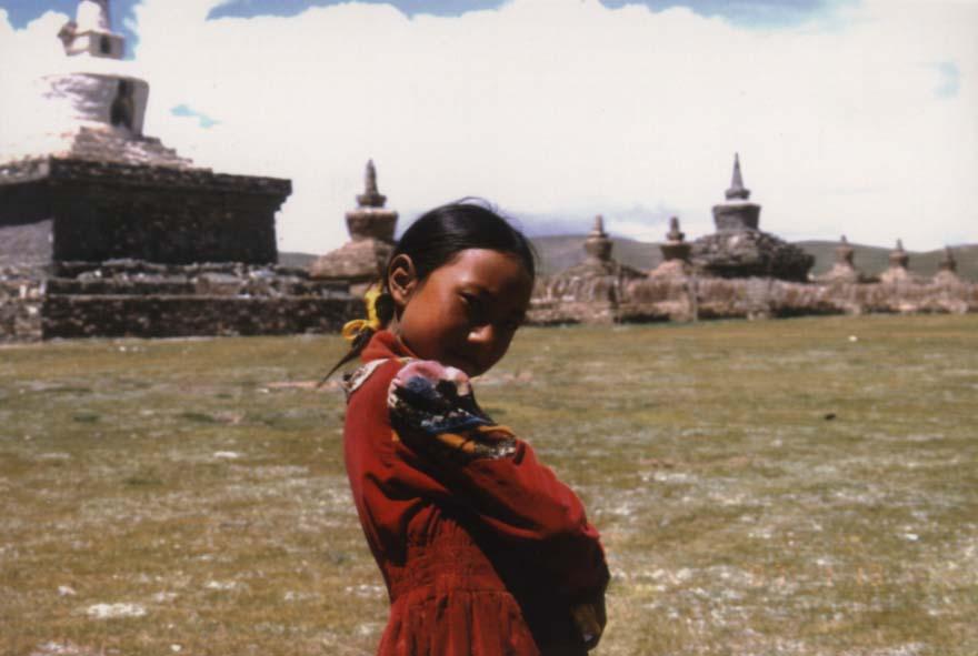 可爱的藏族女孩 offroader