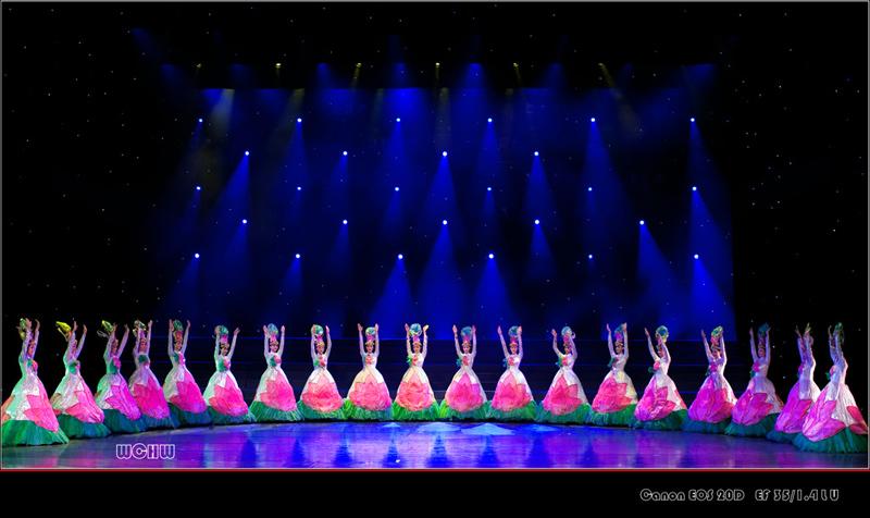 东方歌舞团 舞蹈 荷花梦