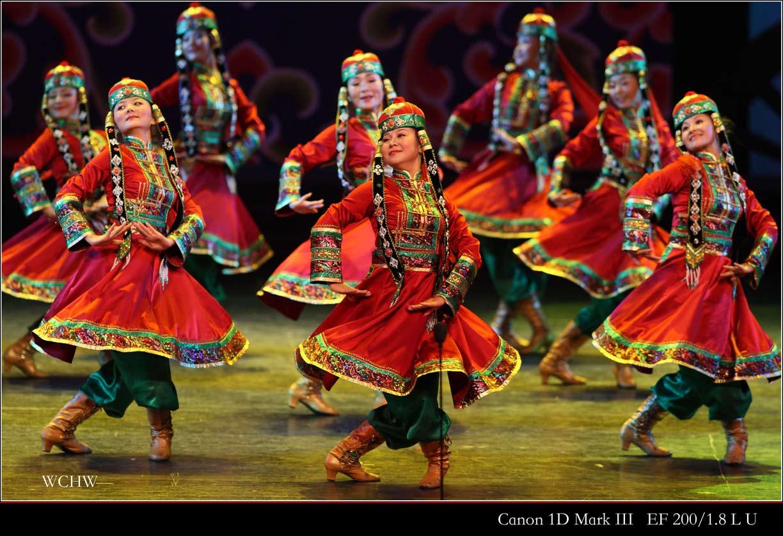 蒙古族舞蹈《少女萨吾尔登