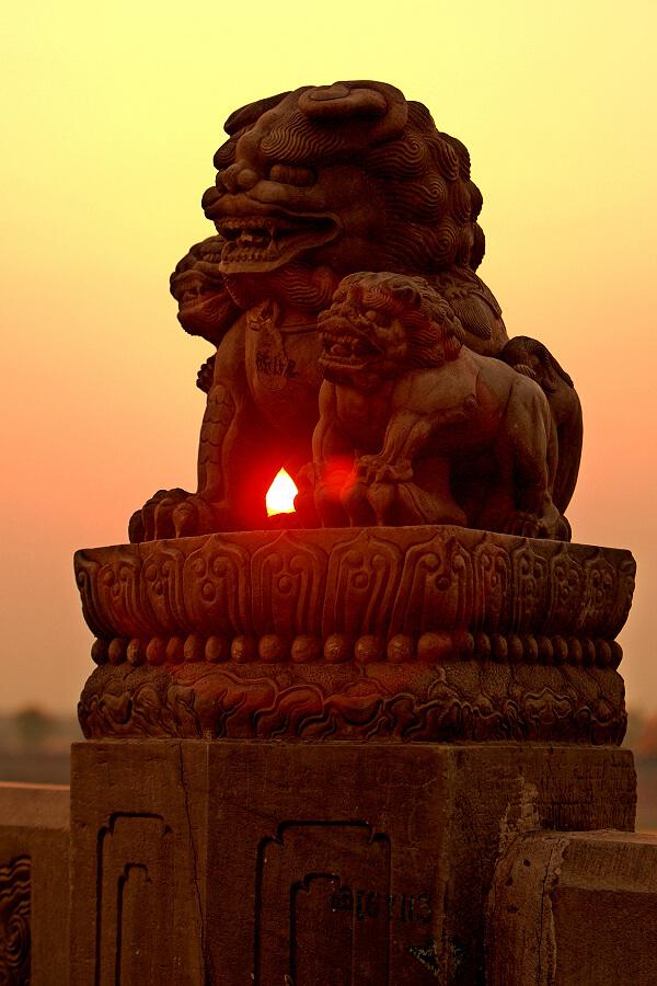 【卢沟桥狮子】 - 关于卢沟桥的资料图片