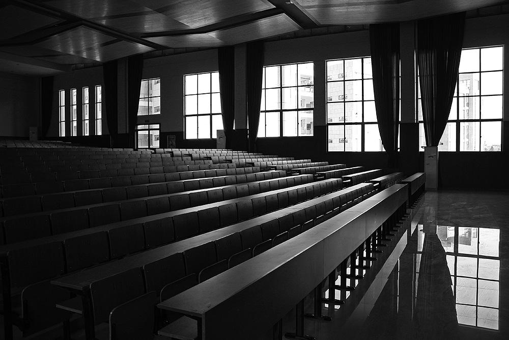 阶梯教室 车坛影协 高清图片