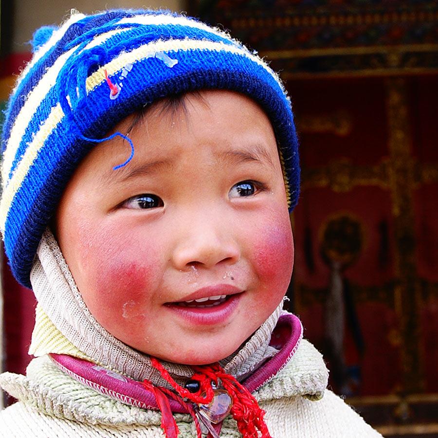 藏族,孩子