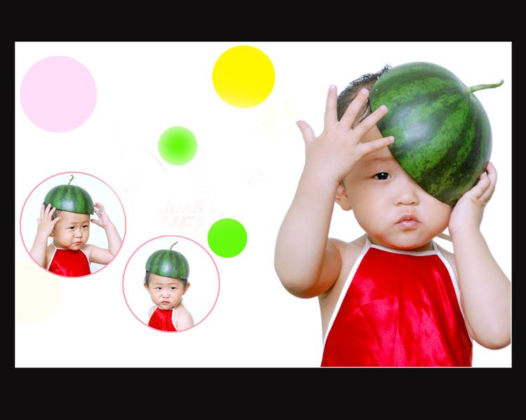 西瓜头剪发步骤图解