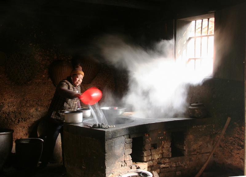 农村厨房装修效果图,农村厨房柴火灶台设计,农村厨房,农村厨