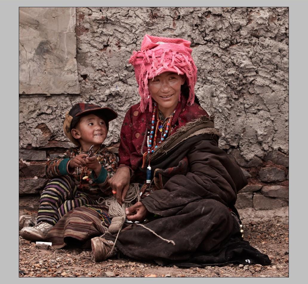 藏族人物图片素材