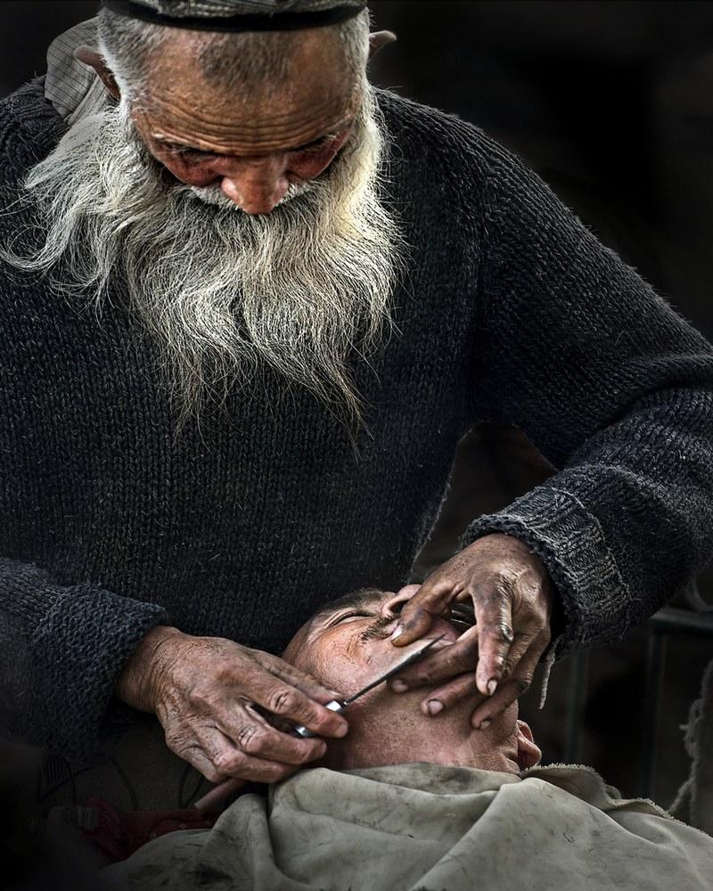 新疆剪发师