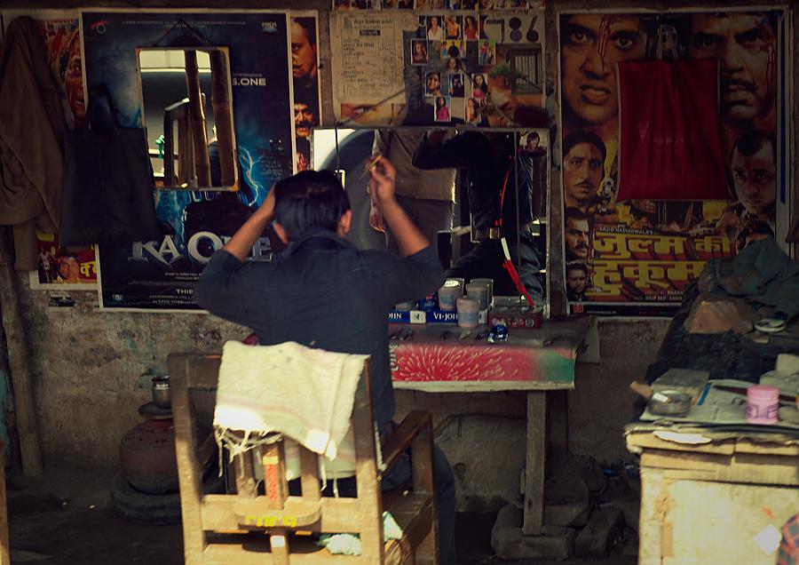 摄游印度(理发店的故事)