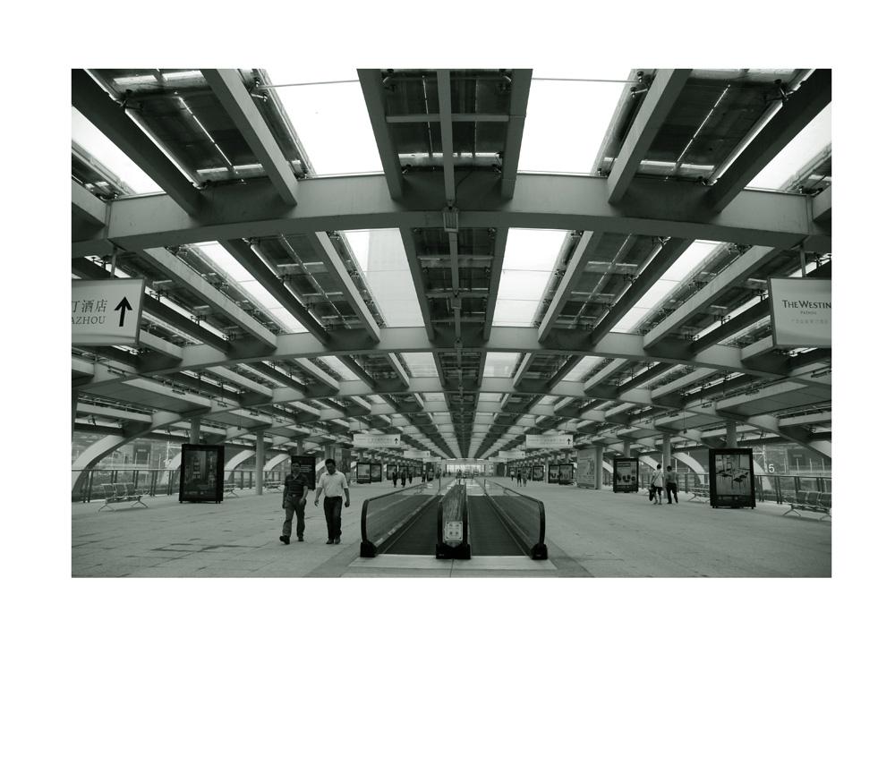现代建筑构成影像