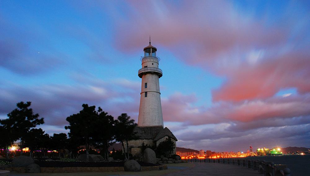 美丽威海-悦海灯塔