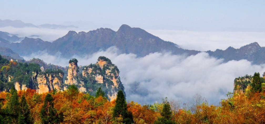 √张家界天子山景区--将军岩(泗南峪)