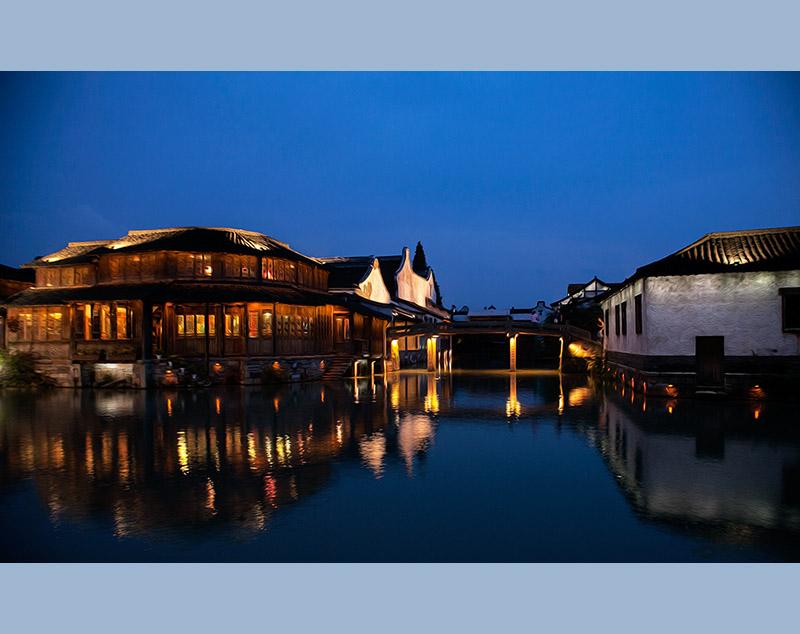临水新中式建筑