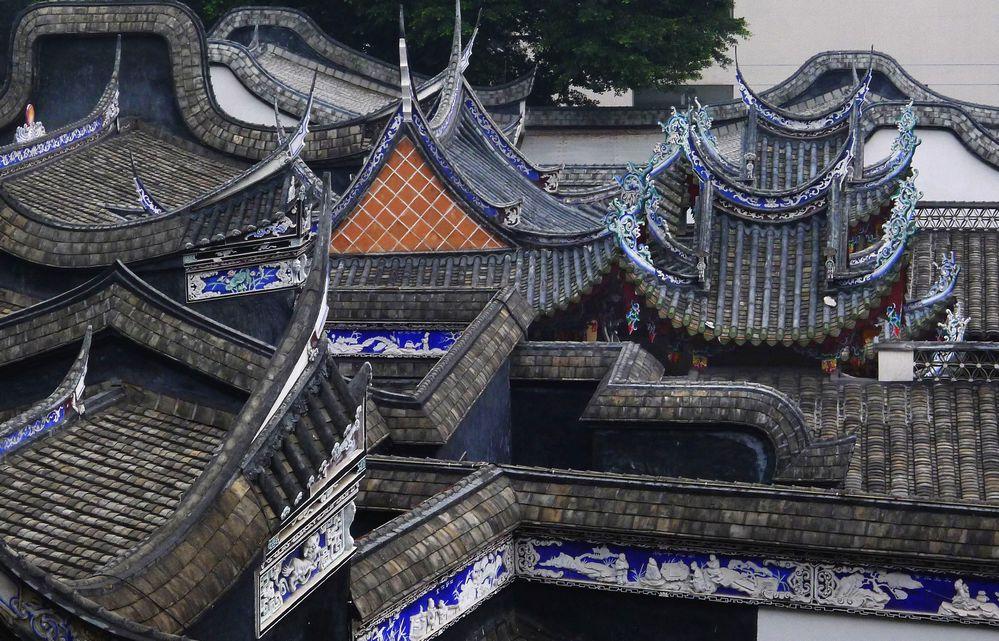 尘土 中国古建筑