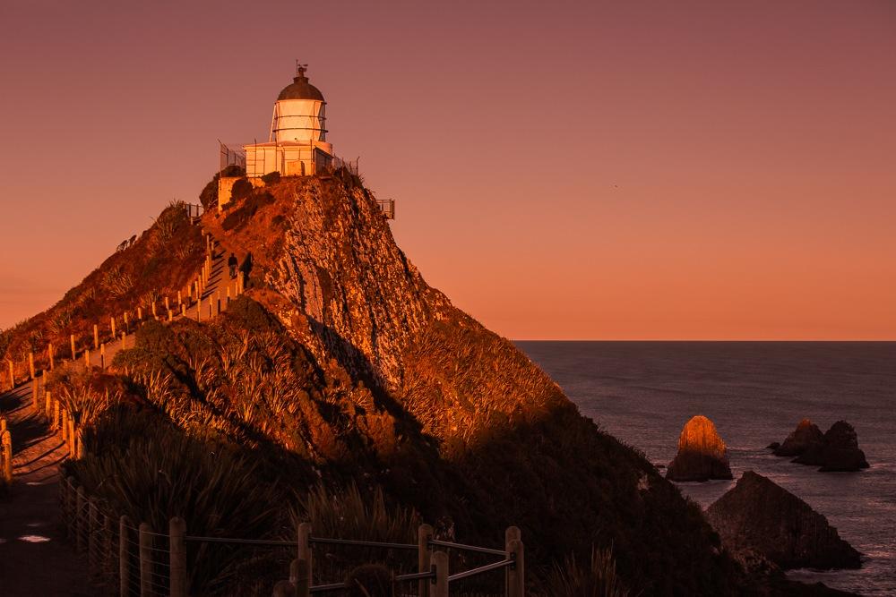新西兰南岛风光--灯塔
