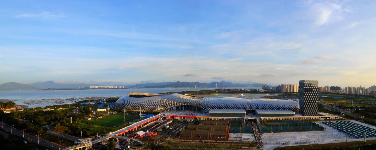 深圳湾体育馆