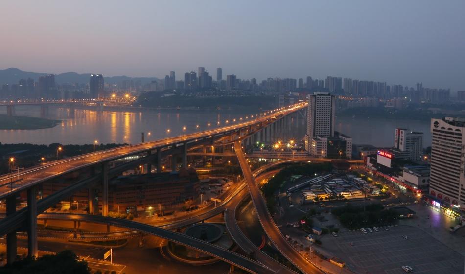 重庆长江大桥 雷体宏