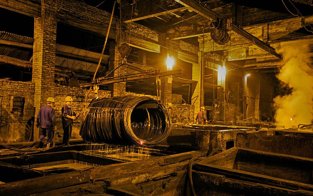 中国梦.劳动美----钢厂纪实13