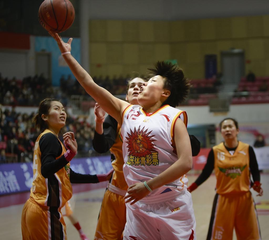 2013-2014中国女子篮球甲级联赛(山东对云南)