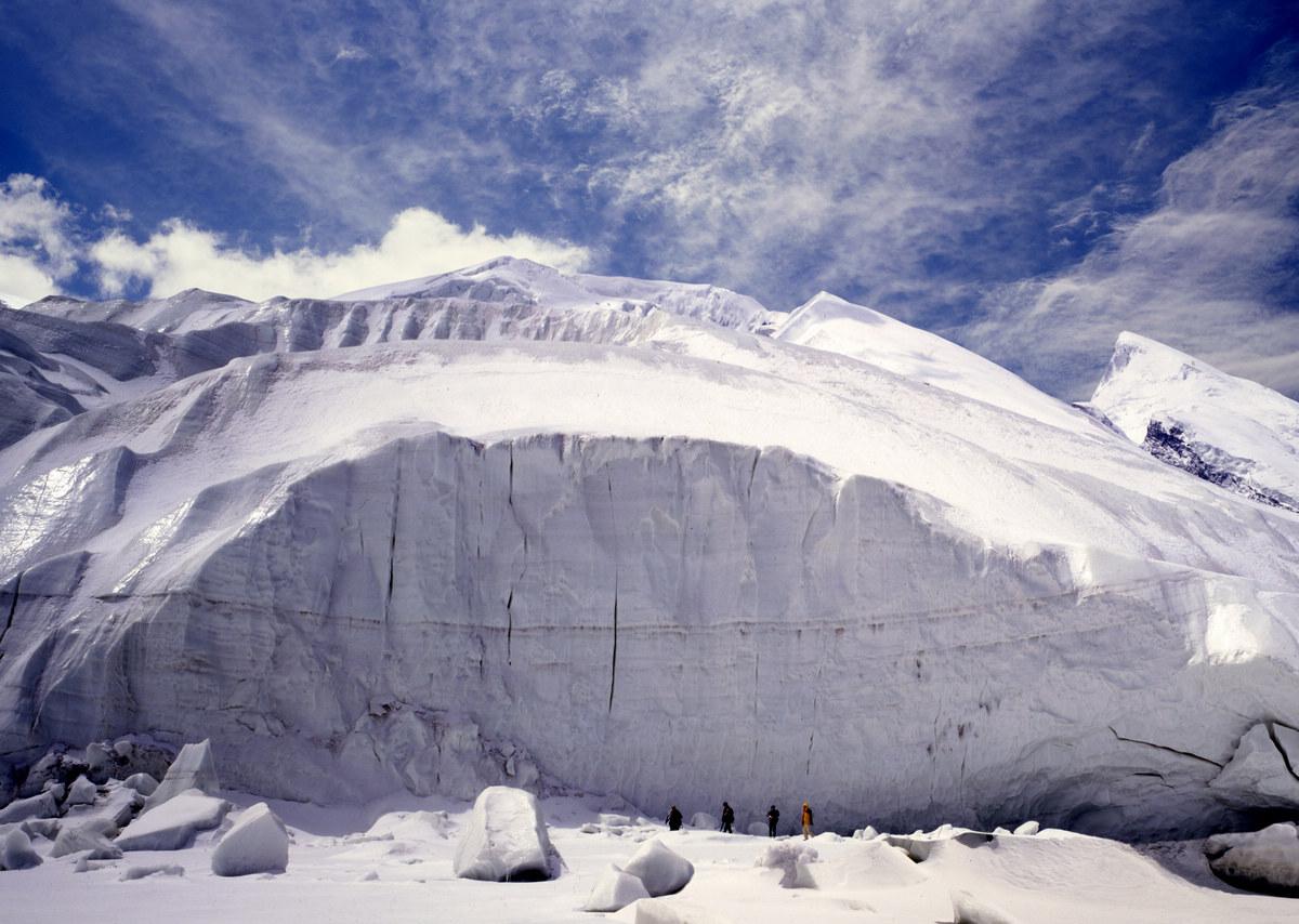 冰山之父慕士塔格峰冰川