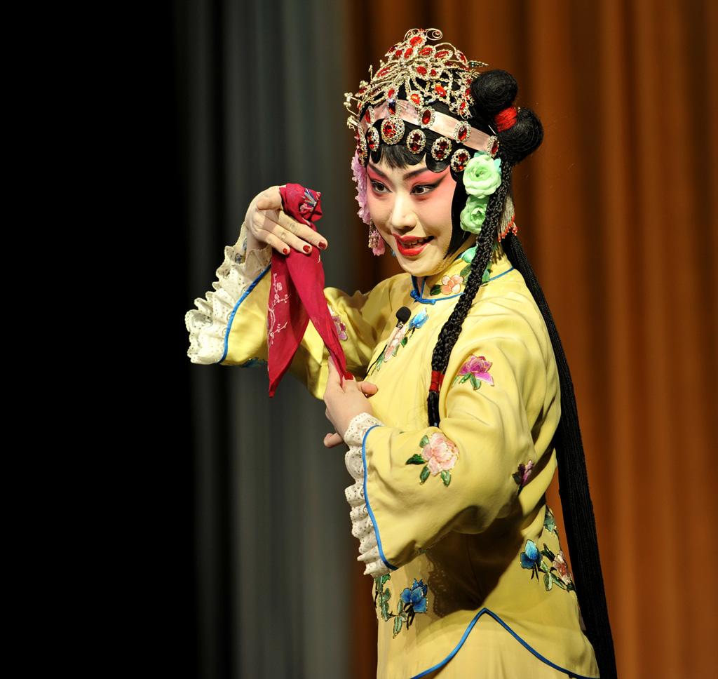 京剧人物---花旦