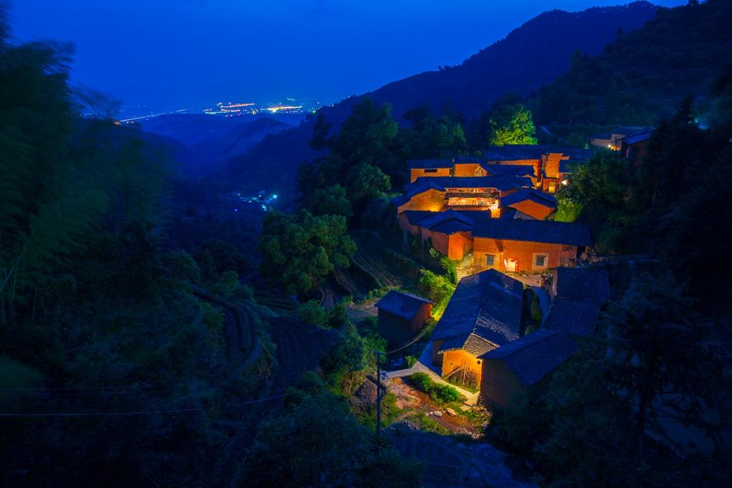 cn-- 乡村夜景 战哥