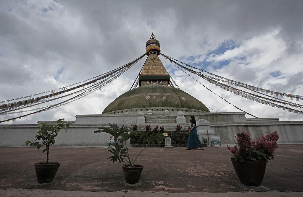 博达纳特大佛塔——尼泊尔